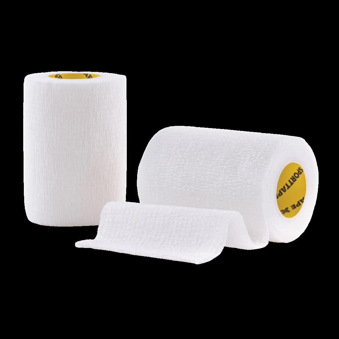 Cohesive Tape 7.5cm White 2 Rolls