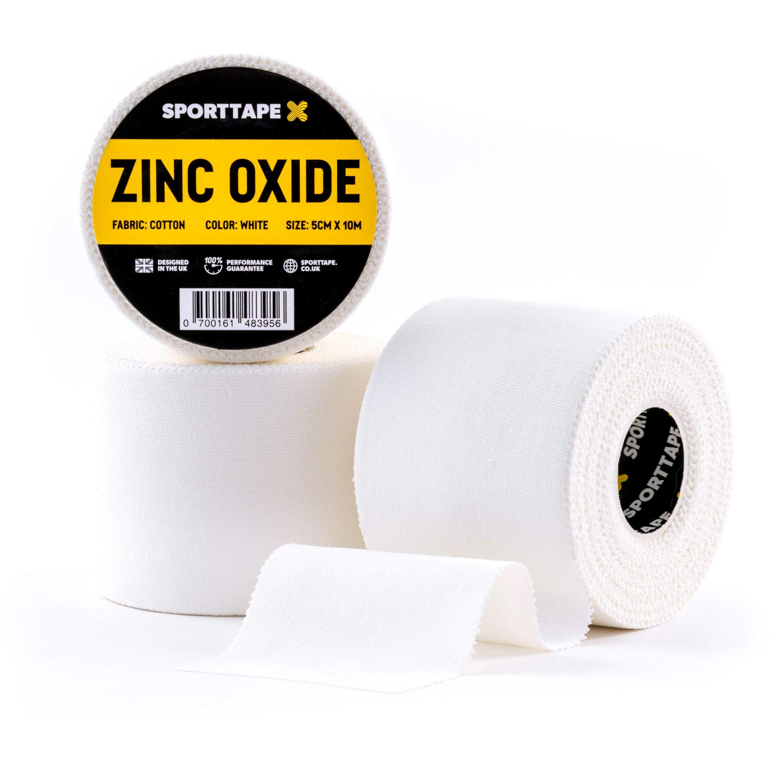 Zinc Oxide 5cm x 10m 3 Rolls