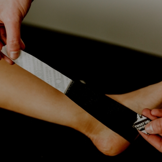 Kinesiology Tape for Plantar Fasciitis and Foot Arch