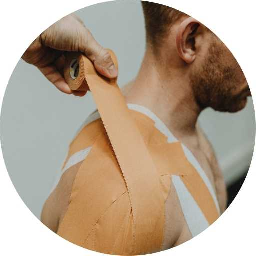 How to use Strapping Tapes - clinical reasoning Shoulder Strapping