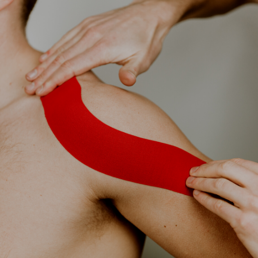 Kinesiology Taping for Shoulder and Rotator Cuff