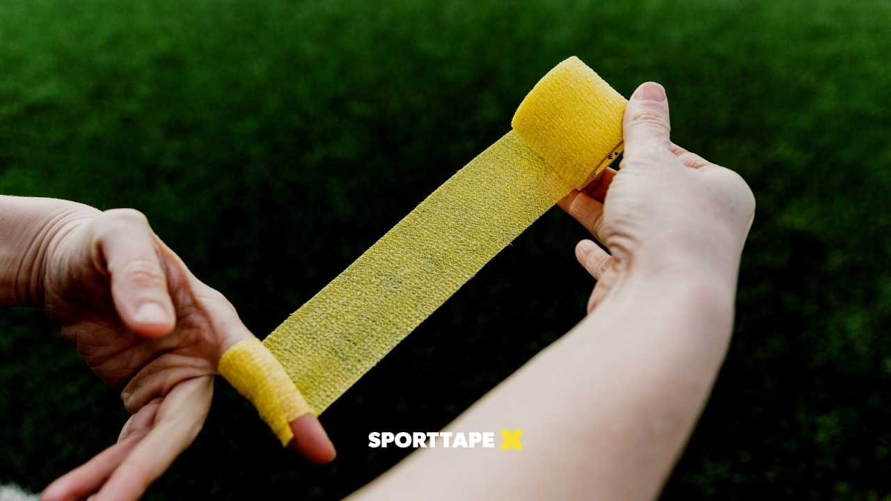 Goalkeeper Finger Tape