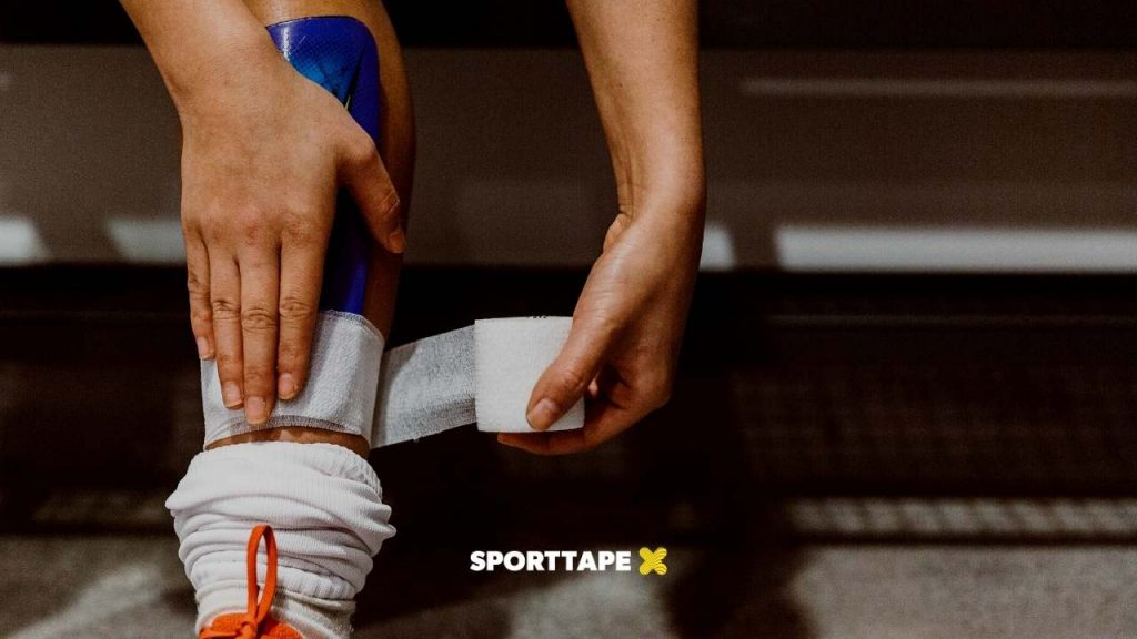 Uses of Cohesive Bandage - Sock Wrap to secure socks and shin guards