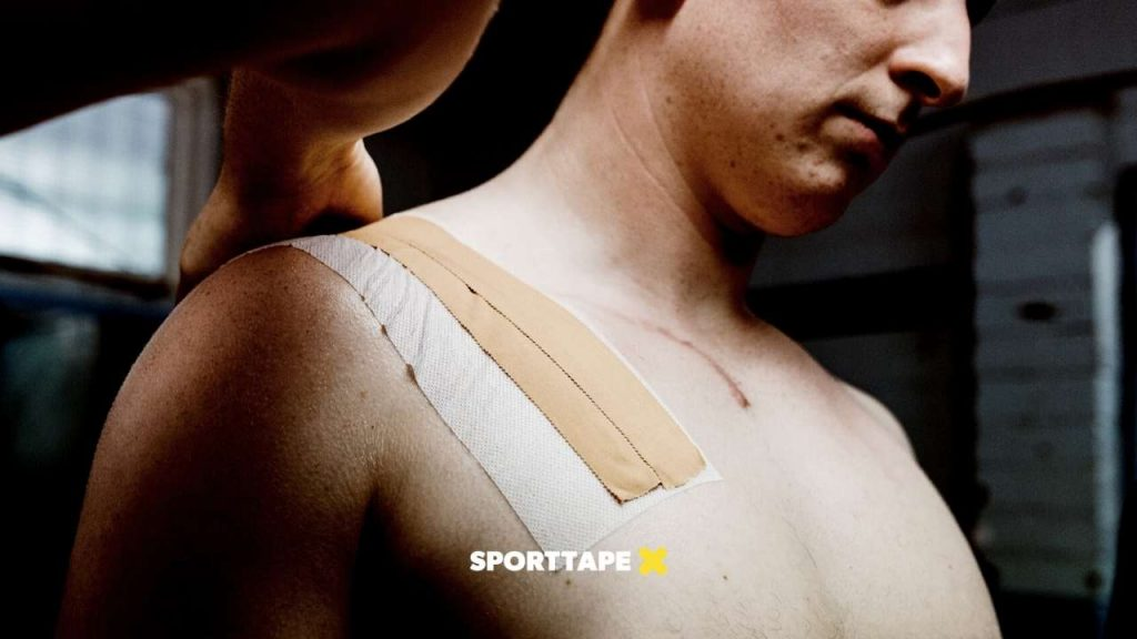 Zinc Oxide Rugby Tape Shoulder Strapping