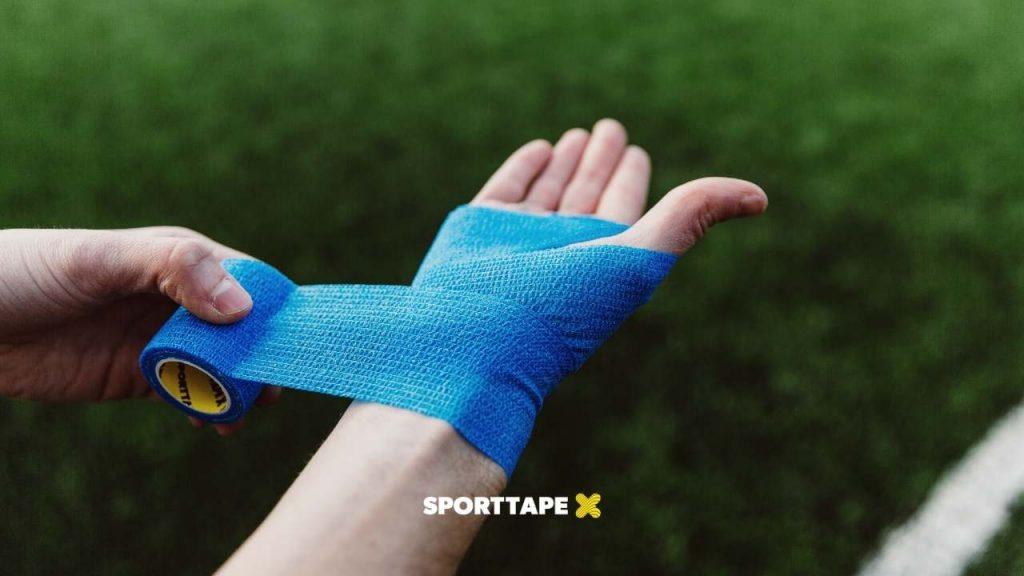 Uses of Cohesive Bandage - Wrist Tape