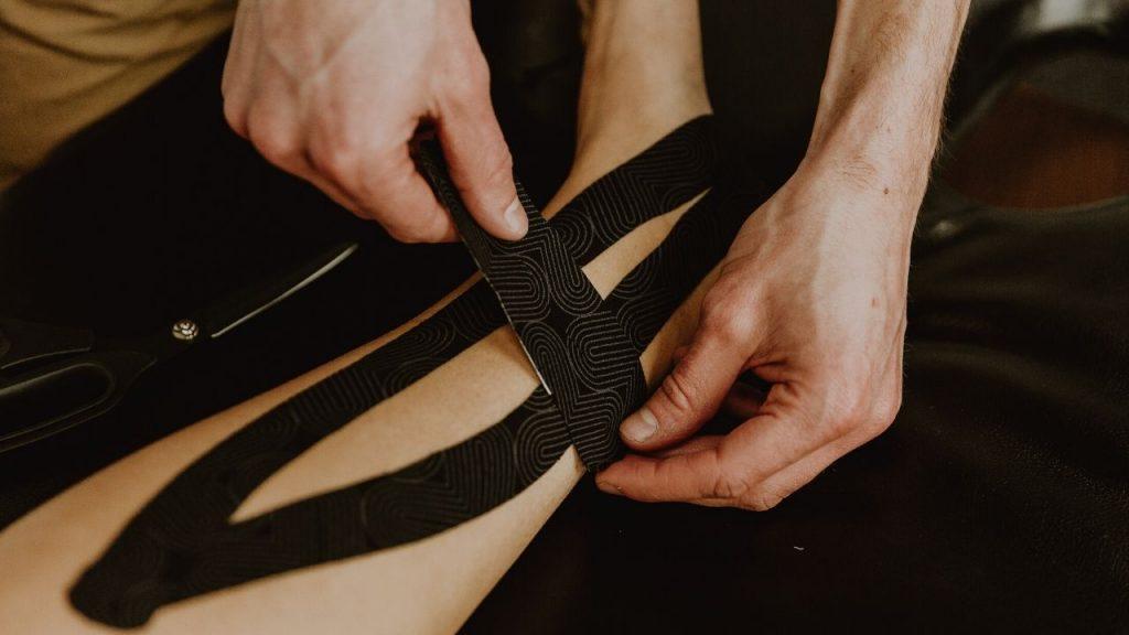 K Tape Running Guide - Shin Splints