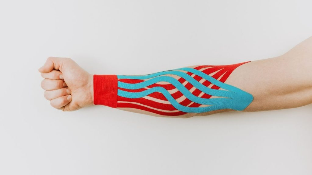 Kinesiology Taping for Arm Pump