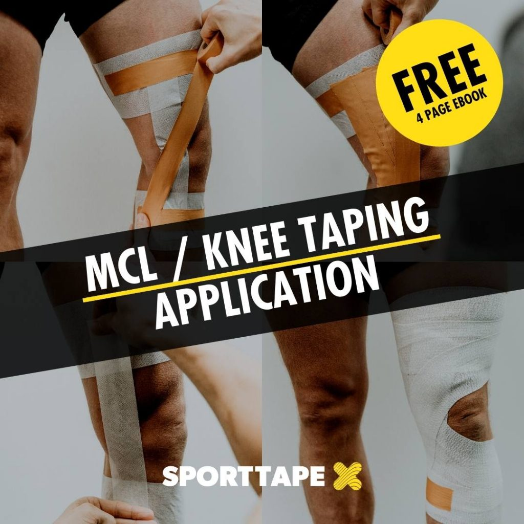 Free MCL Taping Strapping Ebook