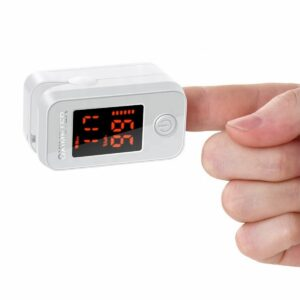 Horizontal Screen Display Oximeter